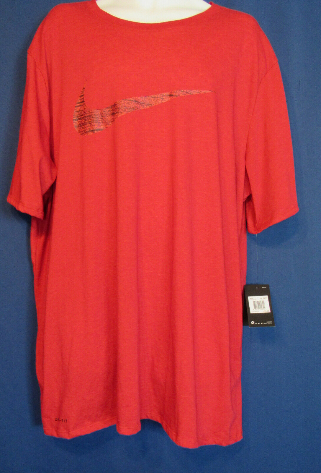 98cb057a6eafd0 Nike Athletic Cut Men s XLT Dri-Fit Training Athletic Red Tee T Shirt New  Tags