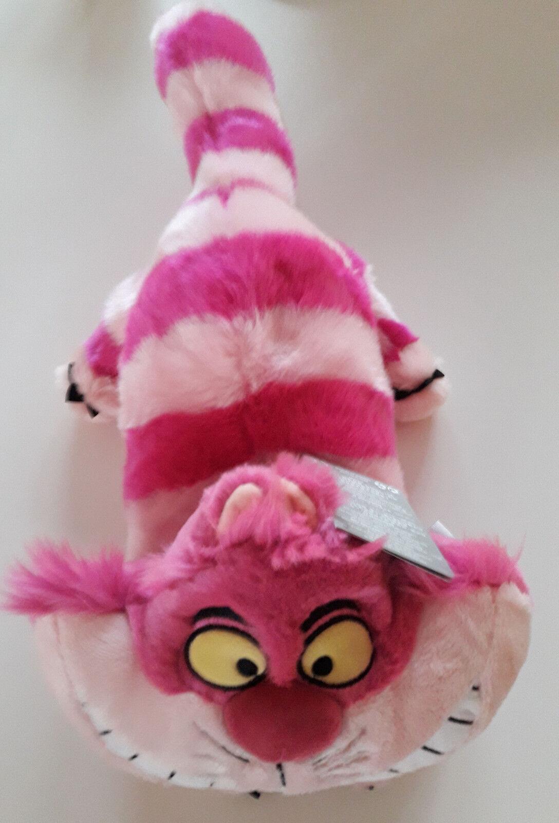 DISNEY GRINSEKATZE Cheshire Cat Alice Plüsch Stofftier Kuscheltier Figur NEU