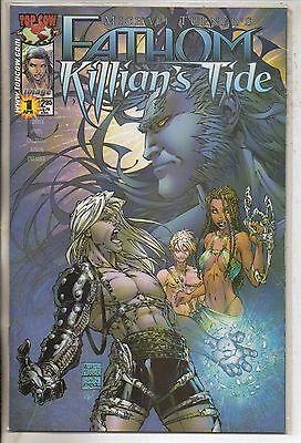 Image Comics Fathom Killians Tide #1 April 2001 Blue Variant Top Cow NM