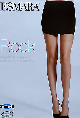 Damen Mini Rock S M L XL Stretch Hoher Baumwollanteil Minirock Sommerrock NEU