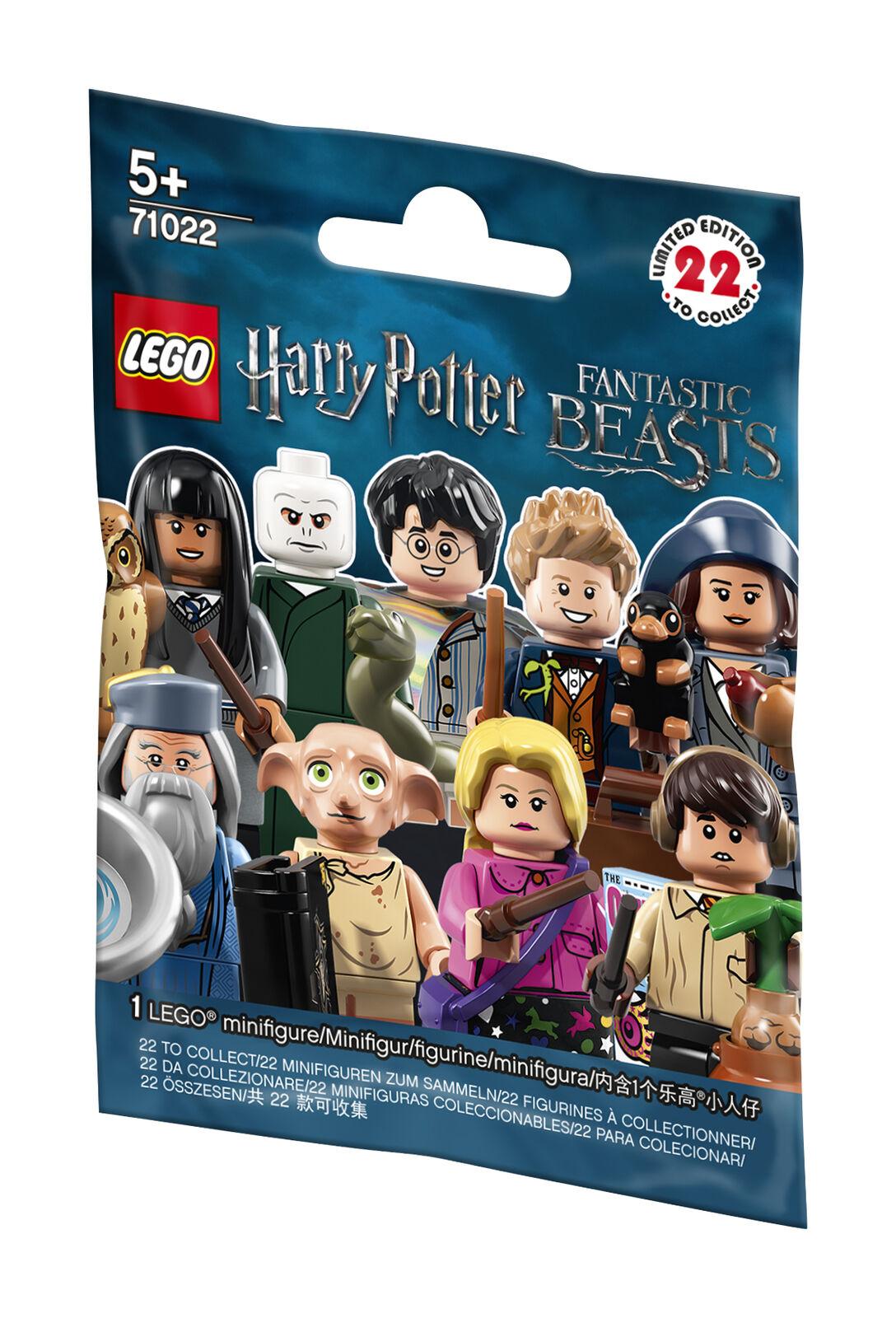 günstig kaufen LEGO Minifigures Harry Potter und Phantastische Tierwesen 71022