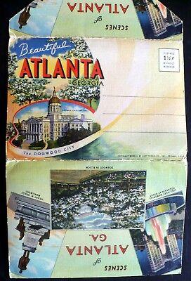(1942 Atlanta Georgia Tech, Penitentiary, Biltmore, RR Station, Tall Buildings)