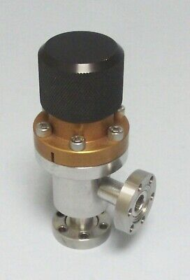 Mdc Av-050 1.33 Cf Uhv Manual Right Angle Vacuum Valve