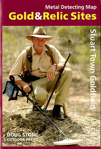 Doug Stone Gold & Relic Prospecting Map Metal Detecting - Stuart Town NSW