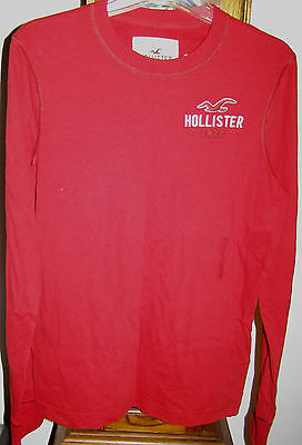 Hollister Hco Mens Ls Tees & Henley S M Various Colors & Styles Up To $34