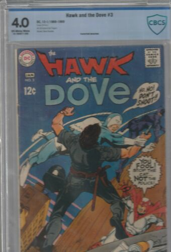 HAWK AND THE DOVE # 3 CBCS 4.0    1968