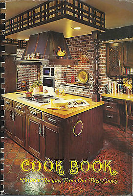 * EL CAJON CA 1976 VINTAGE GIRLS CLUB COOK BOOK * FAVORITE RECIPES FROM OUR