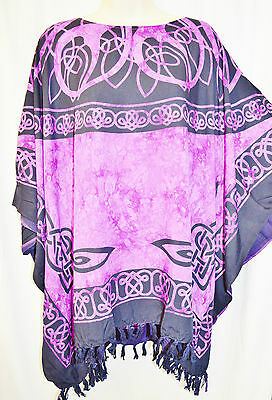 ROMAN Top Tunic Poncho Celtic Shirt Beach Celtic Irish Plus Size Clothing Curve - Plus Size Celtic Clothing