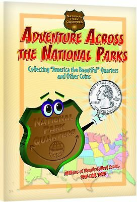 Adventures Across The National Park Quarters Coin Collecting For Kids / - Adventure Books For Kids