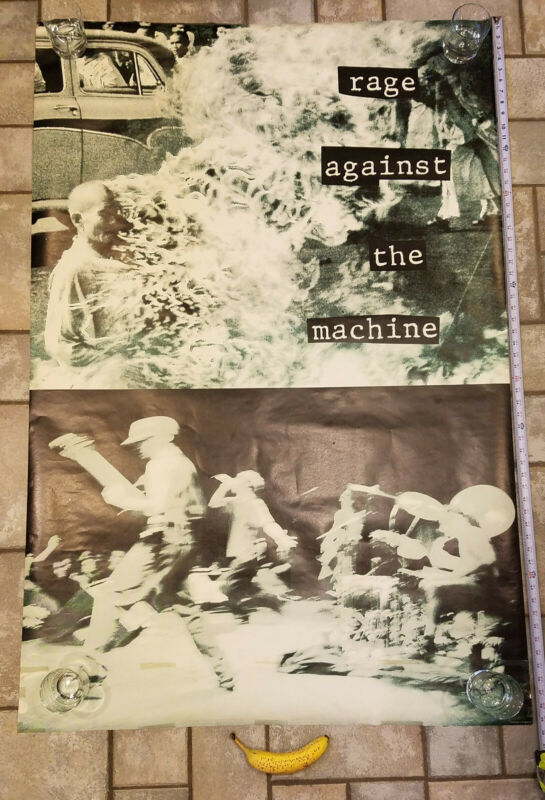 Vintage Rage Against the Machine Subway Poster 40x60