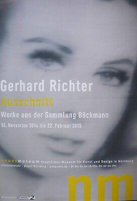 Gerhard Richter Plakat Ausschnitt