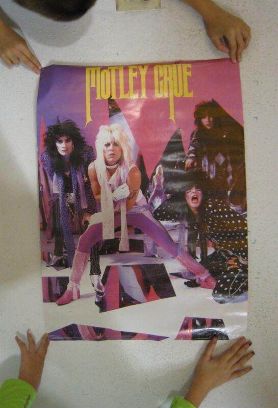 Motley Crue Poster Vintage Band Shot