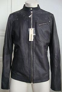 diesel leprando giacca leather jacket lederjacke herren gr l neu mit etikett ebay. Black Bedroom Furniture Sets. Home Design Ideas