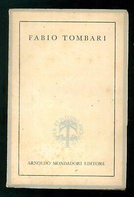 TOMBARI FABIO LE FIABE PER AMANTI MONDADORI 1944 DIFETTO ERRORE DI STAMPA RARO