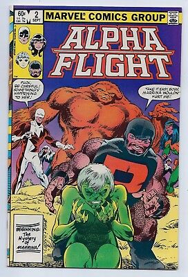 Alpha Flight 2 NM+ 9.6 Copper Age