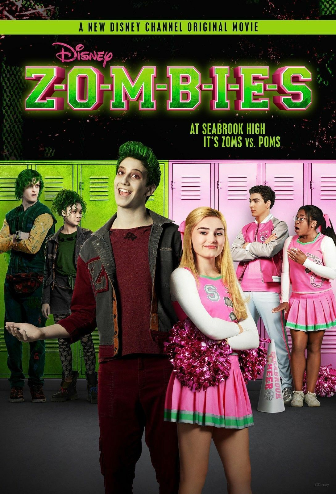 Art Zombies Disney Channel TV Musical New Poster 2018 Hot Fi