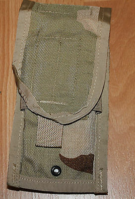 US Army M4 M16 Two Double Magazine Pouch MOLLE II Desert Camo for sale  Shipping to Ireland