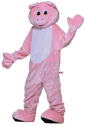 Schwein Plüsch Wirtschaft Maskottchen Erwachsene Kostüm Nutztier Pink