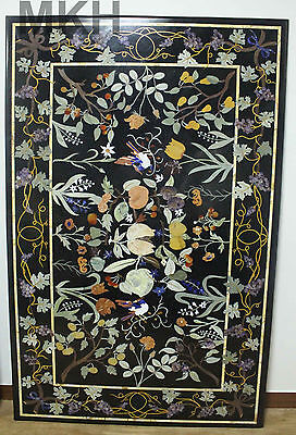 Dining Table Marble Vintage Coffee table Top Modern Mosaic Pietra Dura Scagliola