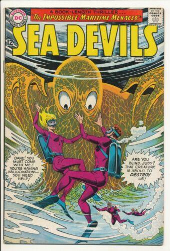 Sea Devils #17 June 1964 DC