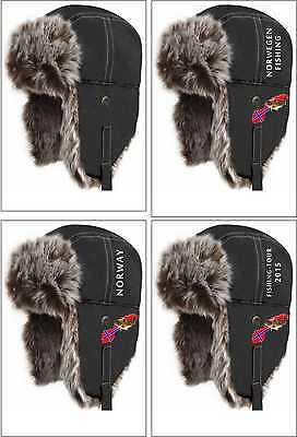 Piloten Hut (Sherpa Hat Hut Fellmütze Pilotenmütze Pelzmütze Norwegen Angler Angeln Shirt)