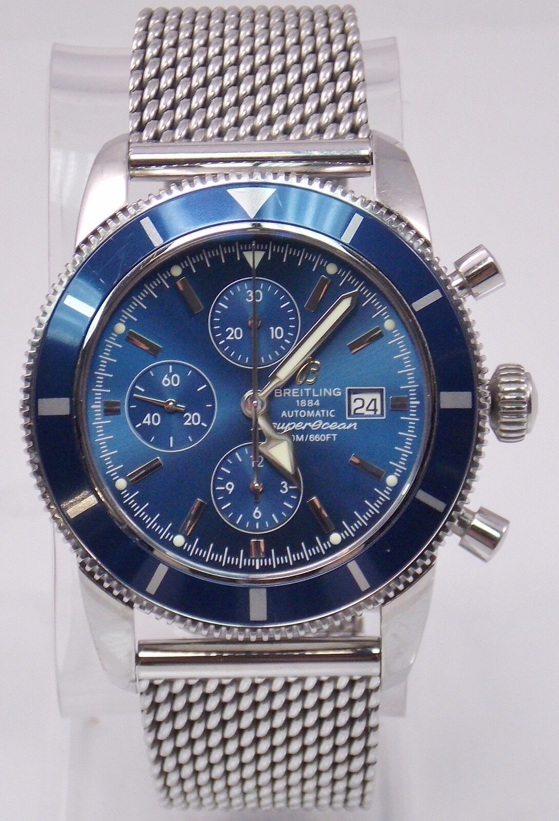 $2856.57 - Breitling SuperOcean Chronograph Heritage Stainless Steel Men's Watch A13320
