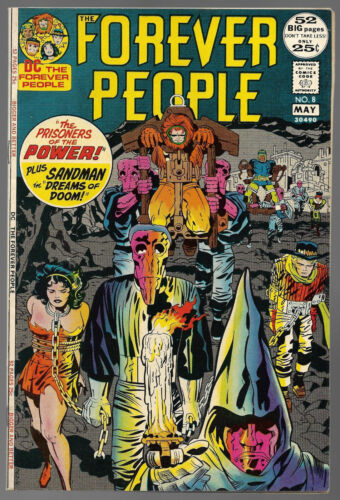 Forever People #8....DC Comics....Kirby....NM 9.4