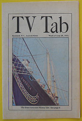 The Great American History Test Rockland Ny Journal News Tv Guide Jun 29 1975