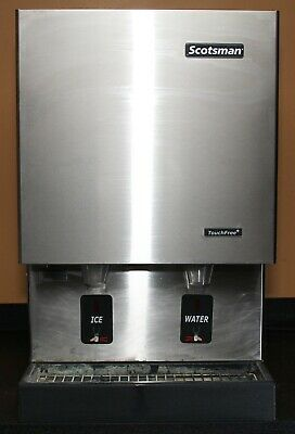 Scotsman Mdt5n25a-1j Touch Free Air Cooled Ice Machine Water  Ice Dispenser