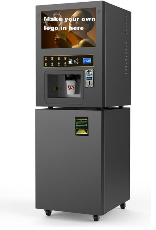 Coin/Note operated automatic drink dispenser Vending Cappuccino machine (GTS204)