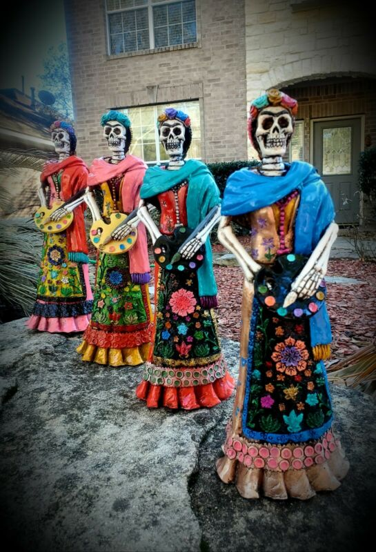 Talavera catrina day of the dead - Frida Kahlo