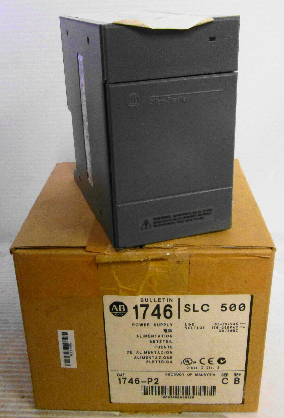 Allen Bradley 1746-P2 SLC500 Power Supply  - $166.73