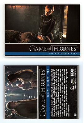 Winds Of Winter #28 Game Of Thrones Season 6 Rittenhouse 2017 Trading Card