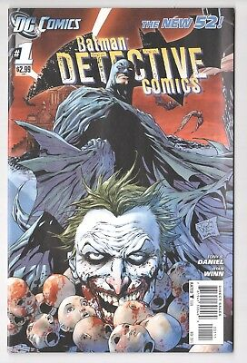 Detective Comics #1 (2011/2nd Series) 1st Printing Batman New-52 Nov 2011
