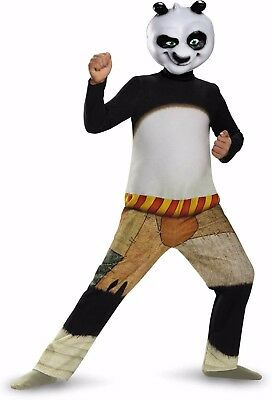 NEW Kung Fu Panda PO Child Halloween Costume by Disguise, size M (7-8 years - 7 Year Old Halloween Costumes