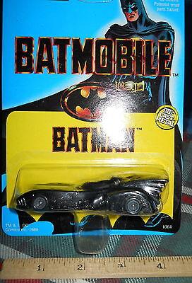 Batman BATMOBILE 1989 Car NIP Ertl Die-Cast Metal   #1064 1:64