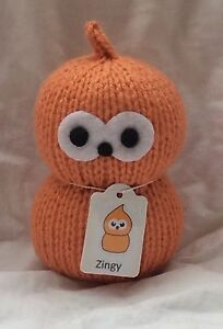 EDF Energy Mascot - Zingy - My Keepon - Hand Knitted Soft Toy - brand new