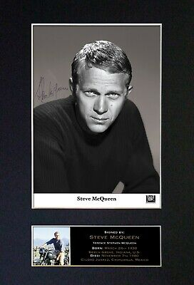 movies Steve McQueen Signature Version 2 Vinyl Decal Sticker Autograph actor