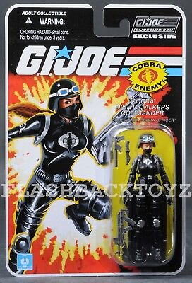 2018 GI Joe Cobra Night Stalkers Commander Officer Subscription FSS 6.0 MOC