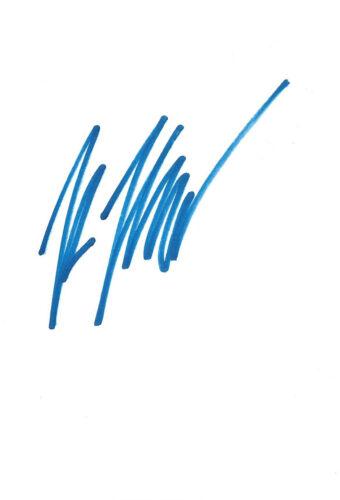 Renee Zellweger Autogramm signed 10x15 cm Karteikarte
