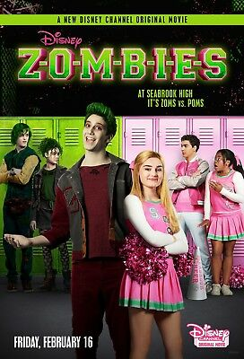 Zombies Musical Movie Poster Disney Meg Donnelly HQ Art Prin