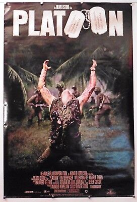 """Platoon Vintage Movie Poster 24"""" X 36"""" NOS (b182) for sale  Shipping to Canada"""