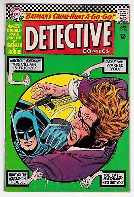 Detective Comics #352 F 6.0 Robin Batman Elongated Man The Cluemaster 1966!
