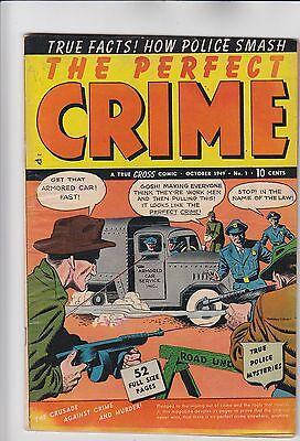 Perfect Crime,The #1 Golden-Age Pre-Code Crime 1949 Cross FREE PRIORITY INS SHIP