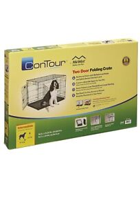 Midwest Contour Double Door Dog Crate - Large.