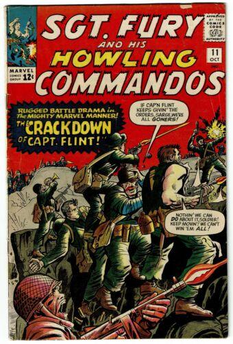 SGT FURY HOWLING COMMANDOS No 11, Marvel, VG