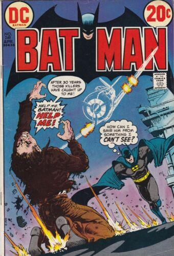 Batman #248 1973 DC COMICS Bronze Age