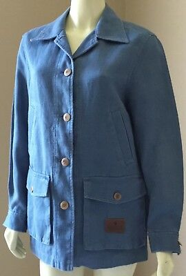 Womens Lauren Ralph Lauren Outdoor Clothing Supply 100% Linen Barn Jacket S M L