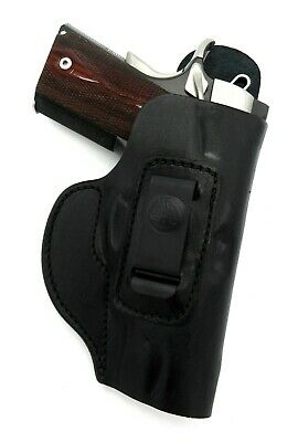 Right Hand Black Leather IWB Inside Pants Holster for KIMBER PRO CARRY II (Iwb Holster For Kimber Pro Carry Ii)