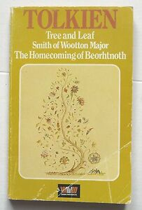 TREE-LEAF-SMITH-WOOTTON-MAJOR-HOMECOMING-BEORHTNOTH-J-R-R-Tolkien-pb-1979